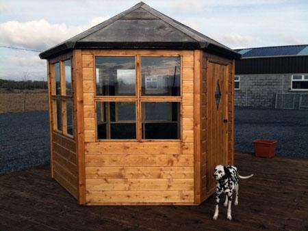 summer chalets - Garden Sheds Galway