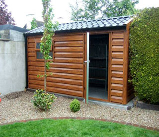 decorating garden sheds galway